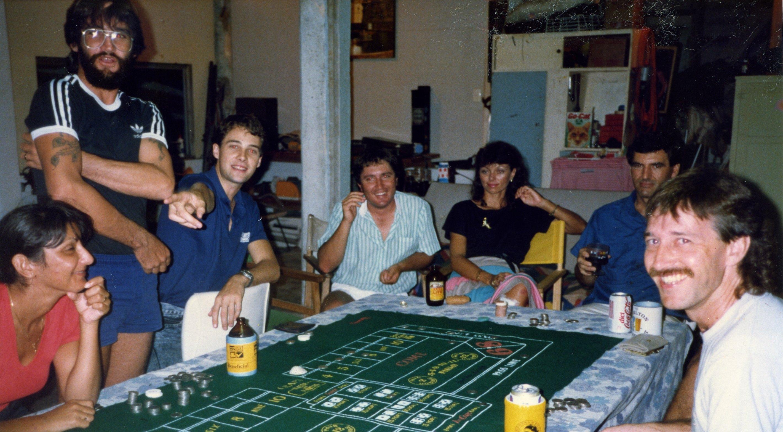 NQUEC Gambling night 1989
